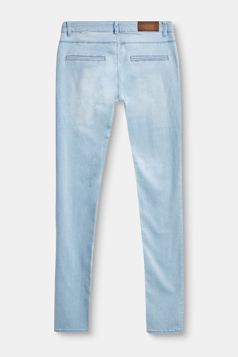 Jean stretch ultra-doux, style chino
