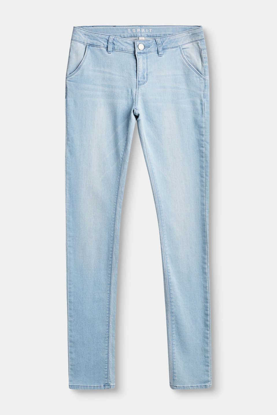 Esprit - Jean stretch ultra-doux, style chino