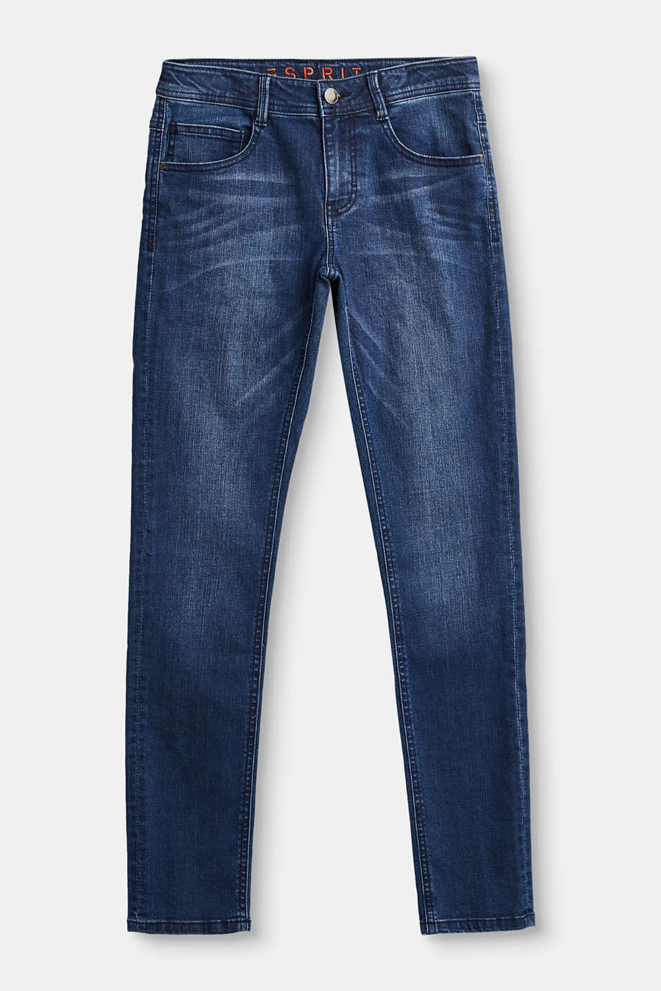 Esprit - Stretch jeans with a deep crotch