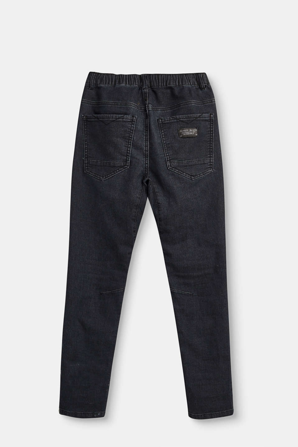 Softe Stretch-Jeans im Jogger-Style