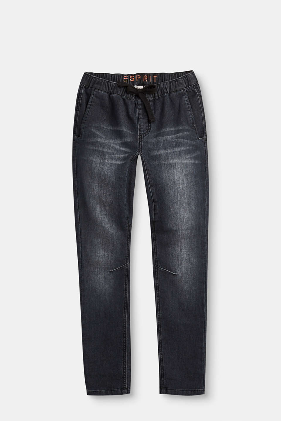 Esprit - Softe Stretch-Jeans im Jogger-Style