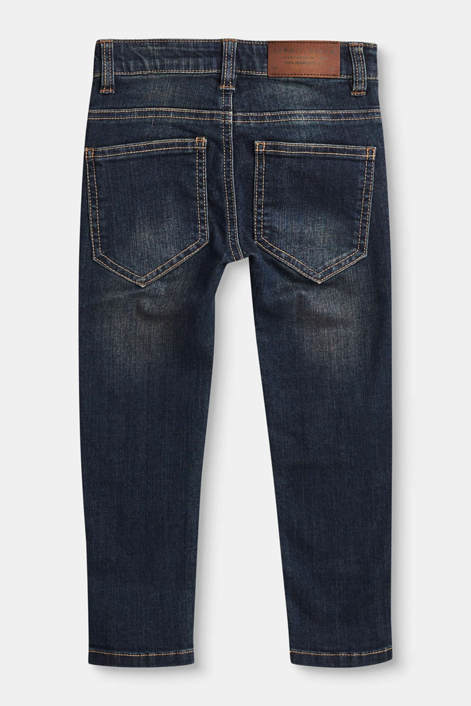 Destroyed Stretch-Jeans mit Dirty-Effekt