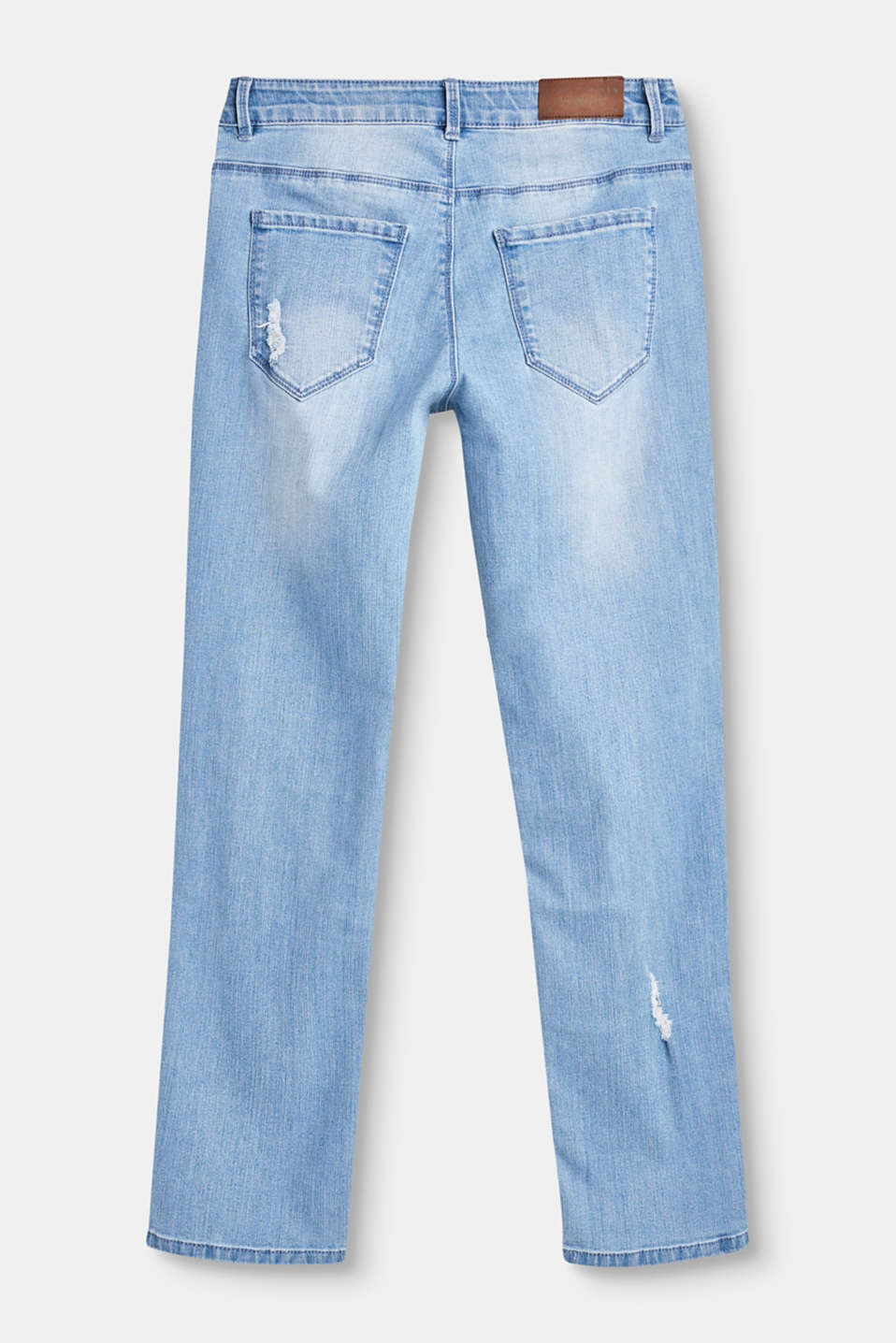 7/8-Jeans im Destroyed-Look