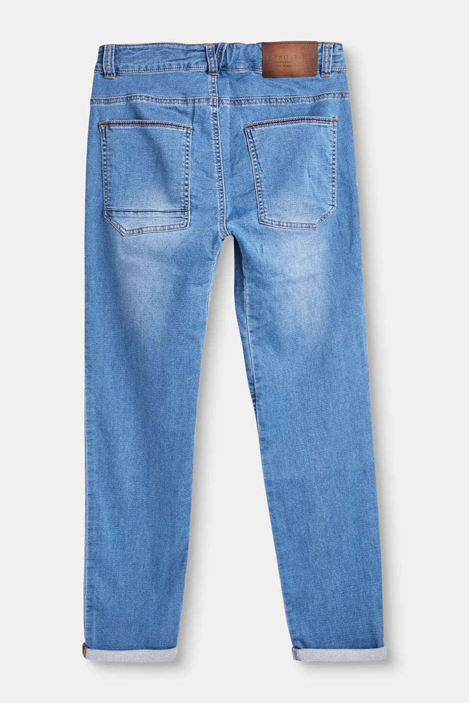Jeans casual in morbido denim
