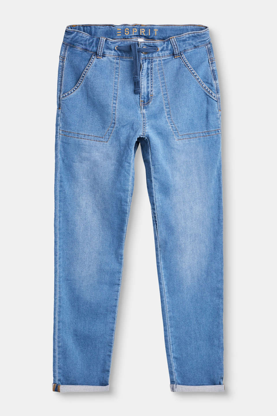 Esprit - Jeans casual in morbido denim