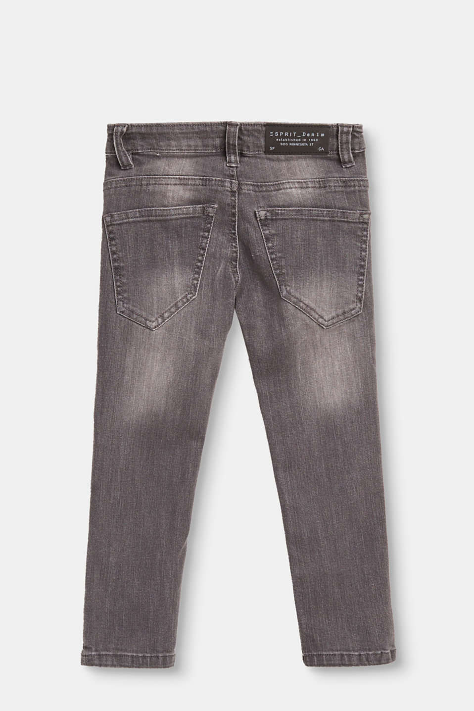 Mega stretchy jeans in a light vintage wash