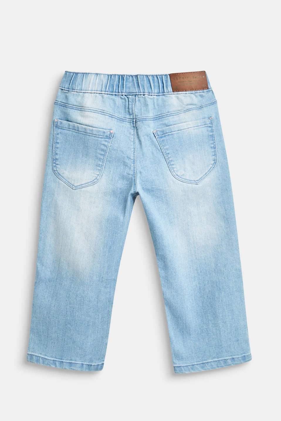 7/8-length casual stretch jeans