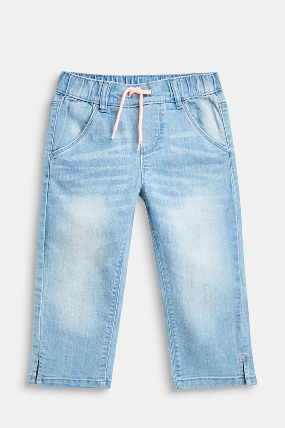 Esprit - 7/8-length casual stretch jeans