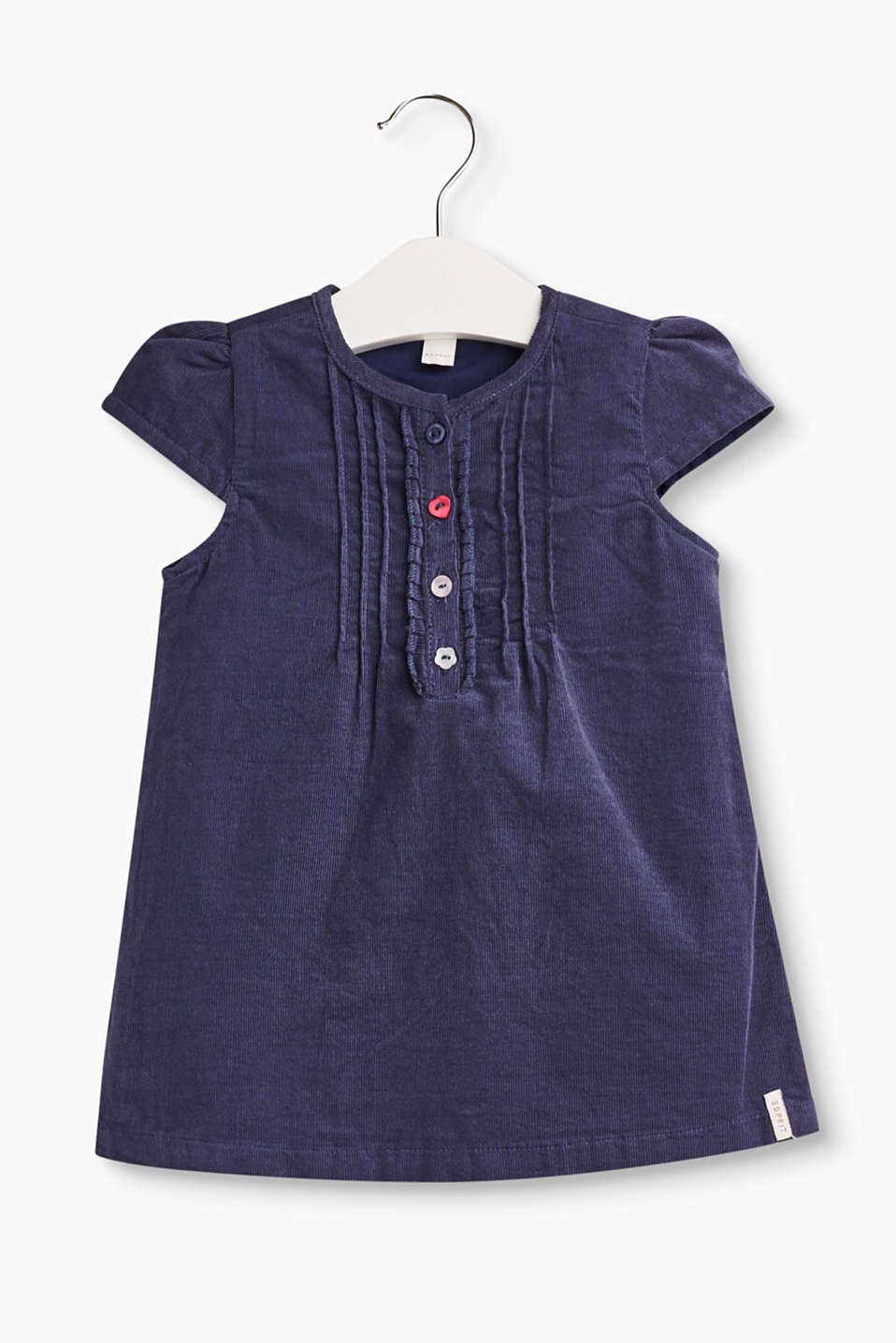 This is for Baby girls! Deze leuke jurk van corduroy is een must.