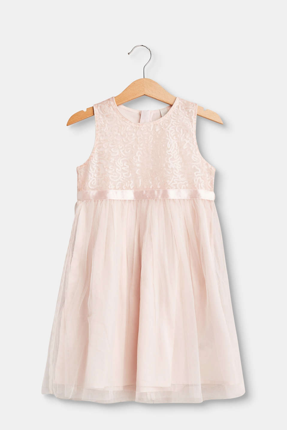 Esprit - Formal tulle dress with decorative sequin