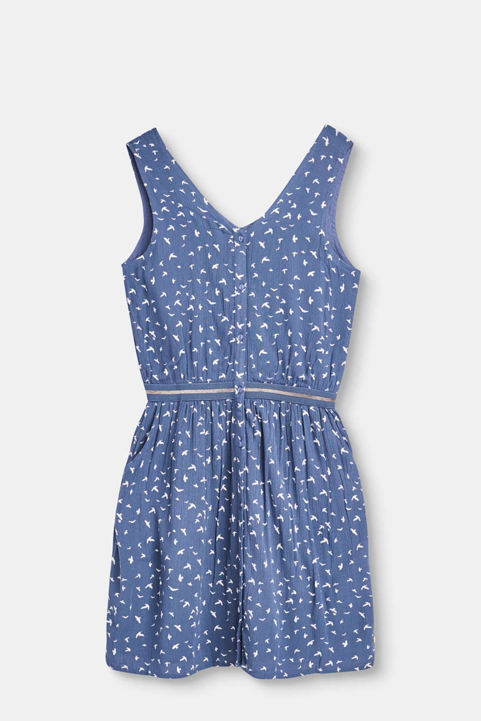 Esprit - Dress with swallow print
