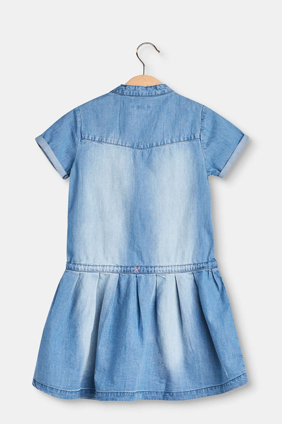Lightweight denim dress in 100% cotton