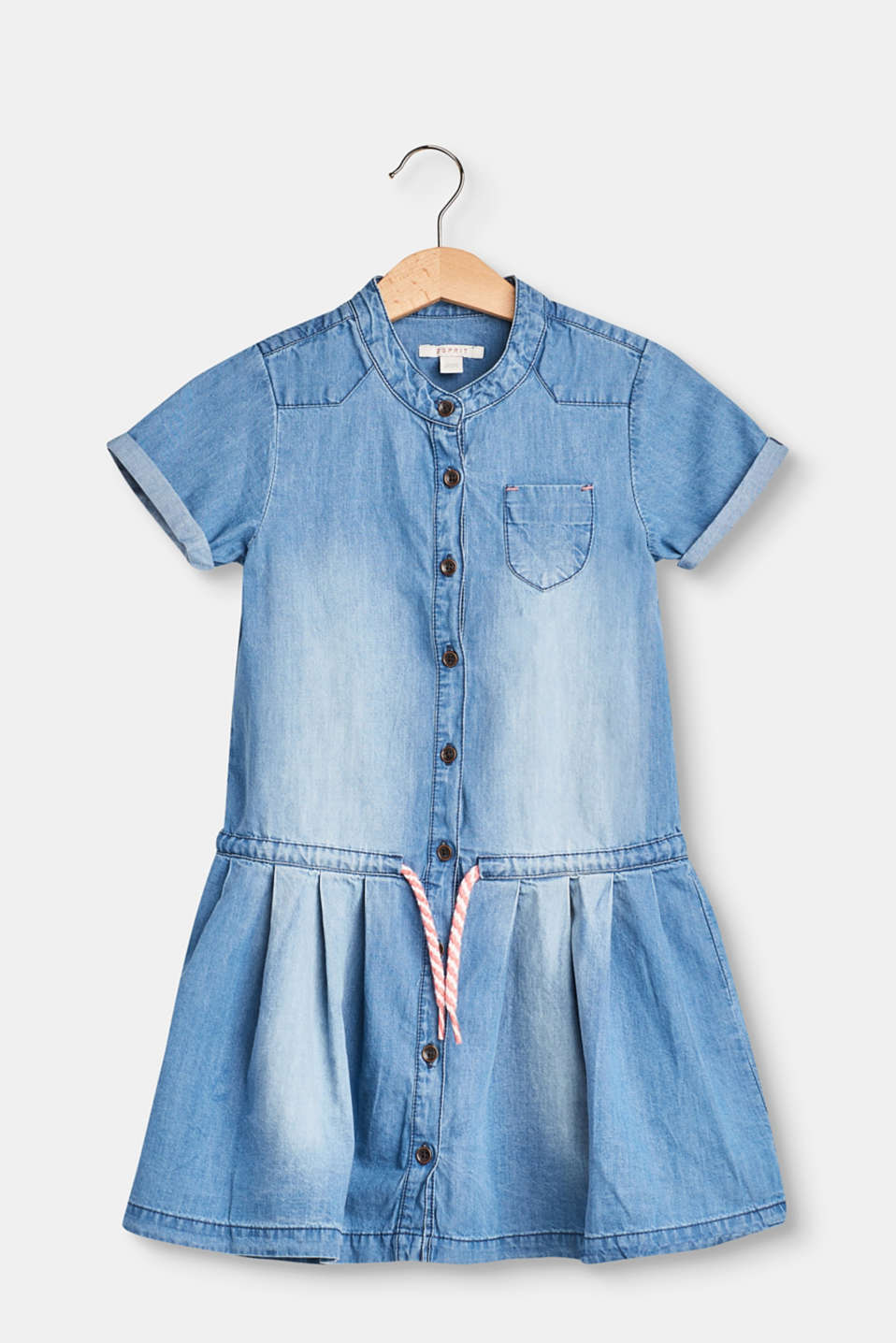 Esprit - Lightweight denim dress in 100% cotton