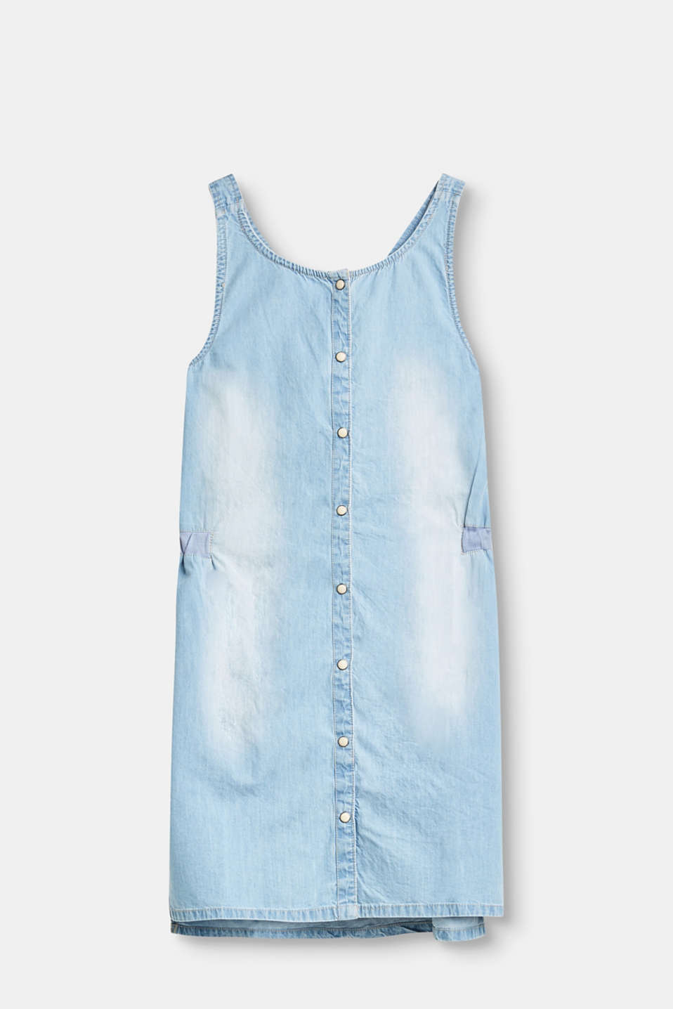 Esprit - Denim dress in a washed out look