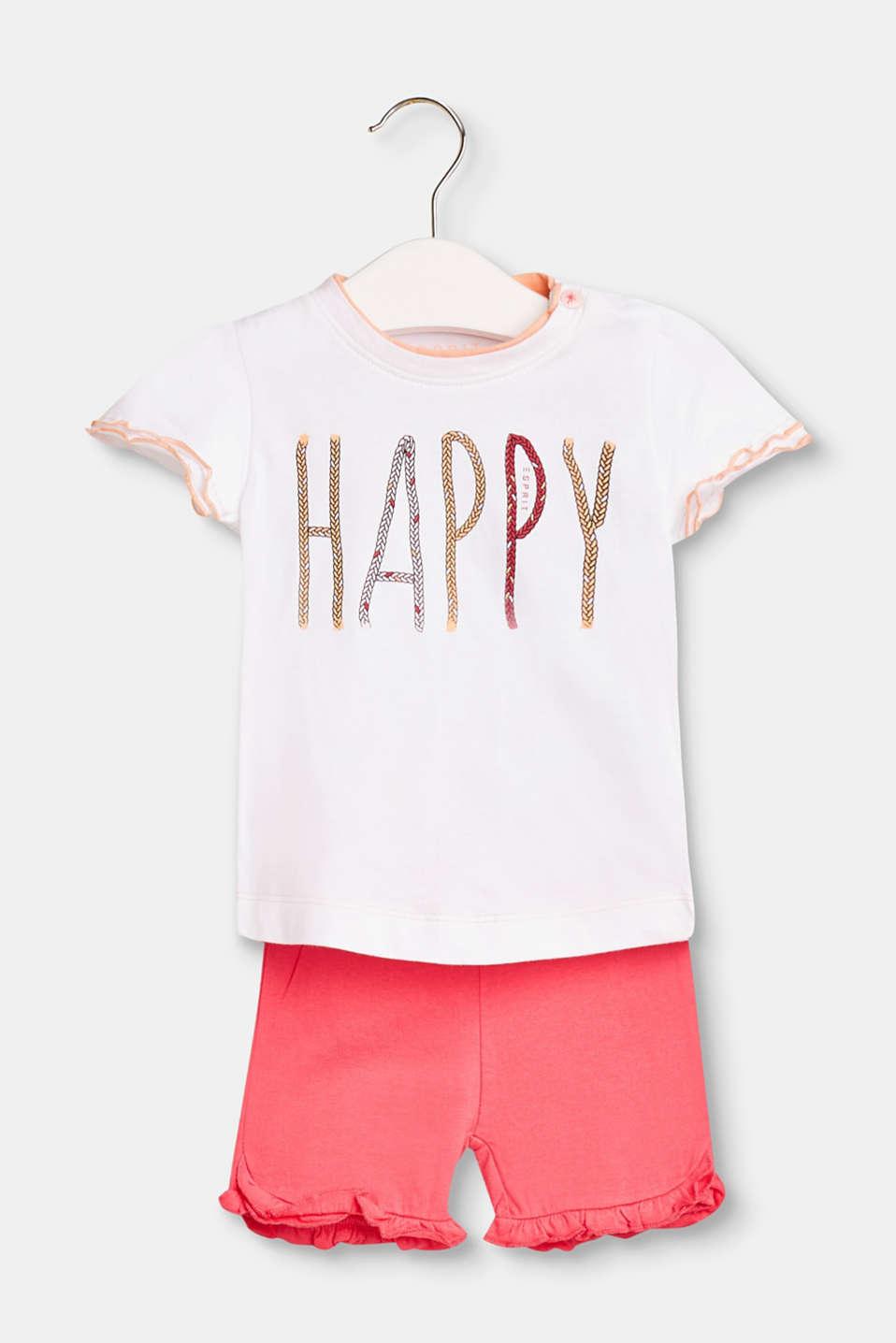 Esprit - Set med T-shirt och shorts 81b85daa940bc