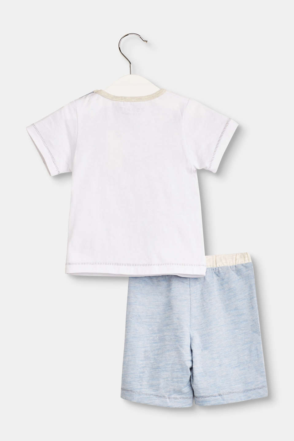 Set: T-Shirt und Shorts mit Organic Cotton