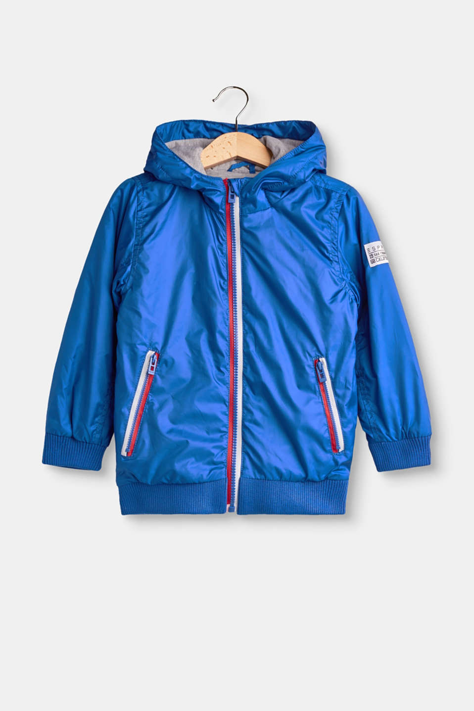 Esprit - Lightly padded jacket with jersey lining