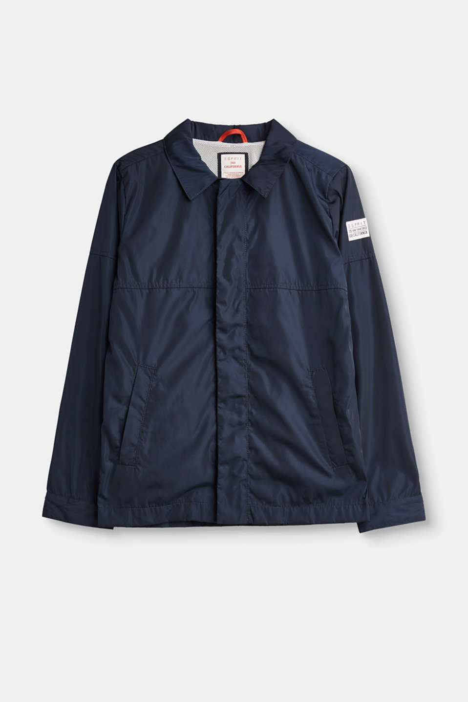 Esprit - Lightweight jacket with mesh lining