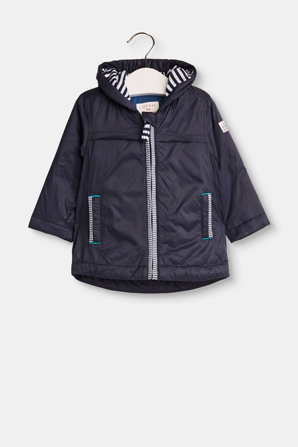 Esprit - Padded windcheater with jersey lining