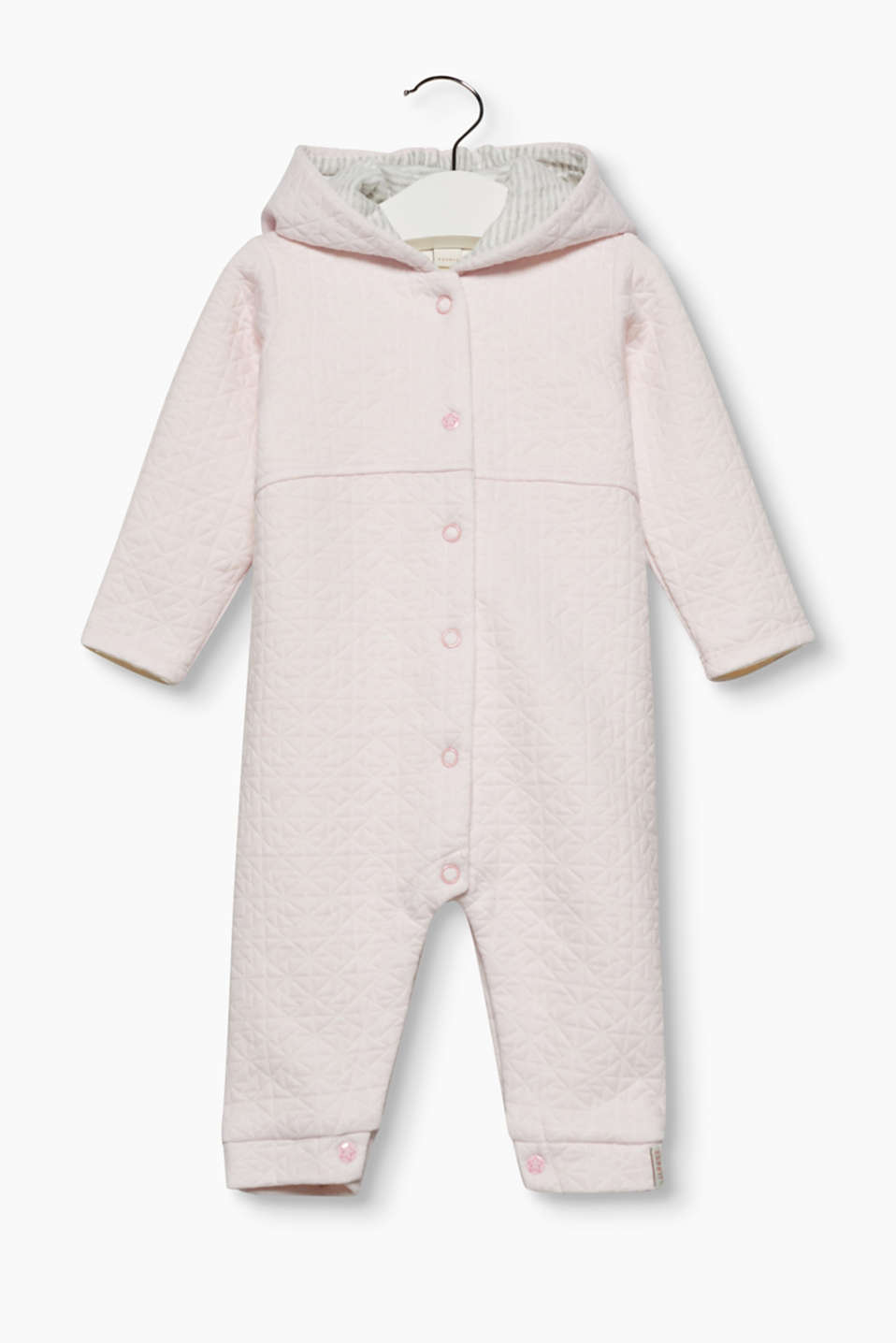 Esprit - Sweatshirt romper + decorative topstitching