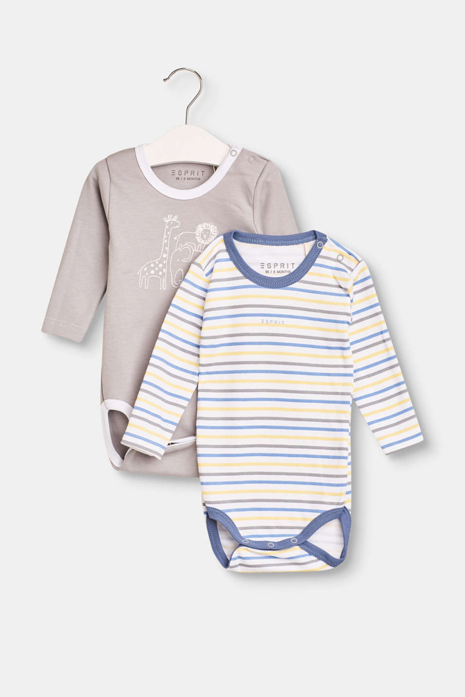 Esprit - 2-pack of bodies with organic cotton
