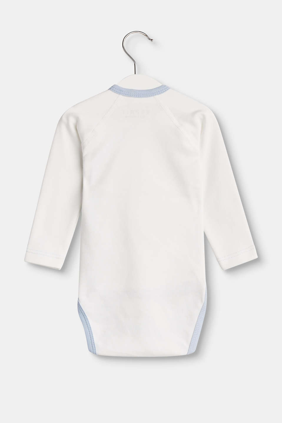 Body in Wickel-Optik aus Organic Cotton