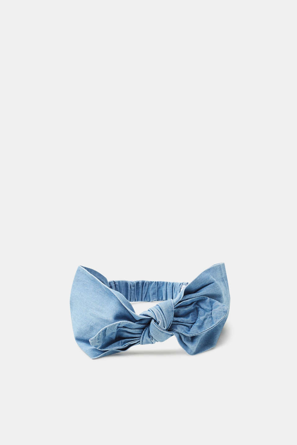 Esprit - Hairband in a lightweight cotton denim