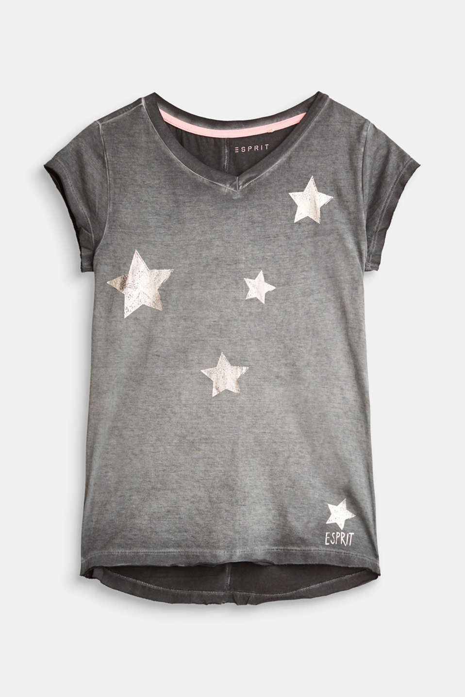 Esprit - Vintage T-shirt with shiny stars