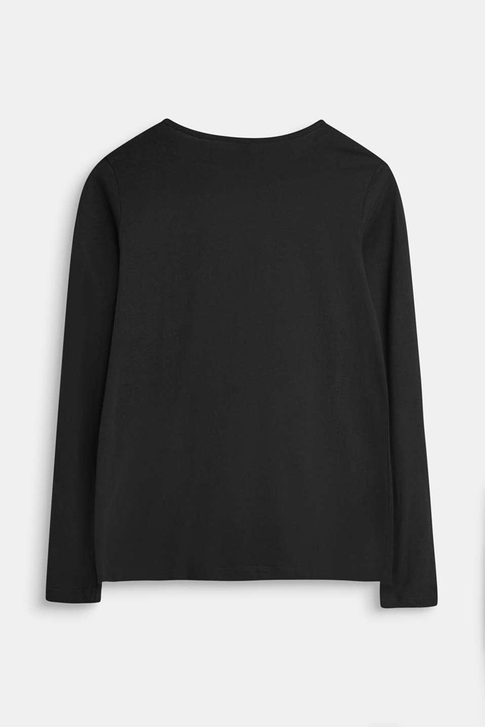 T-Shirts, LCBLACK, detail image number 1