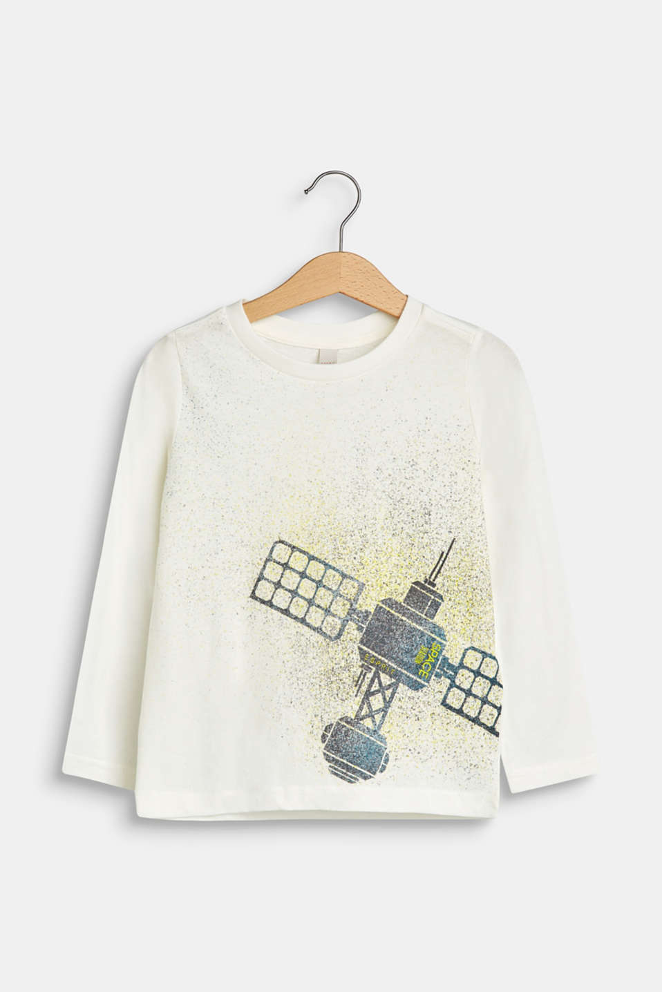 Esprit - Long sleeve top with a space motif