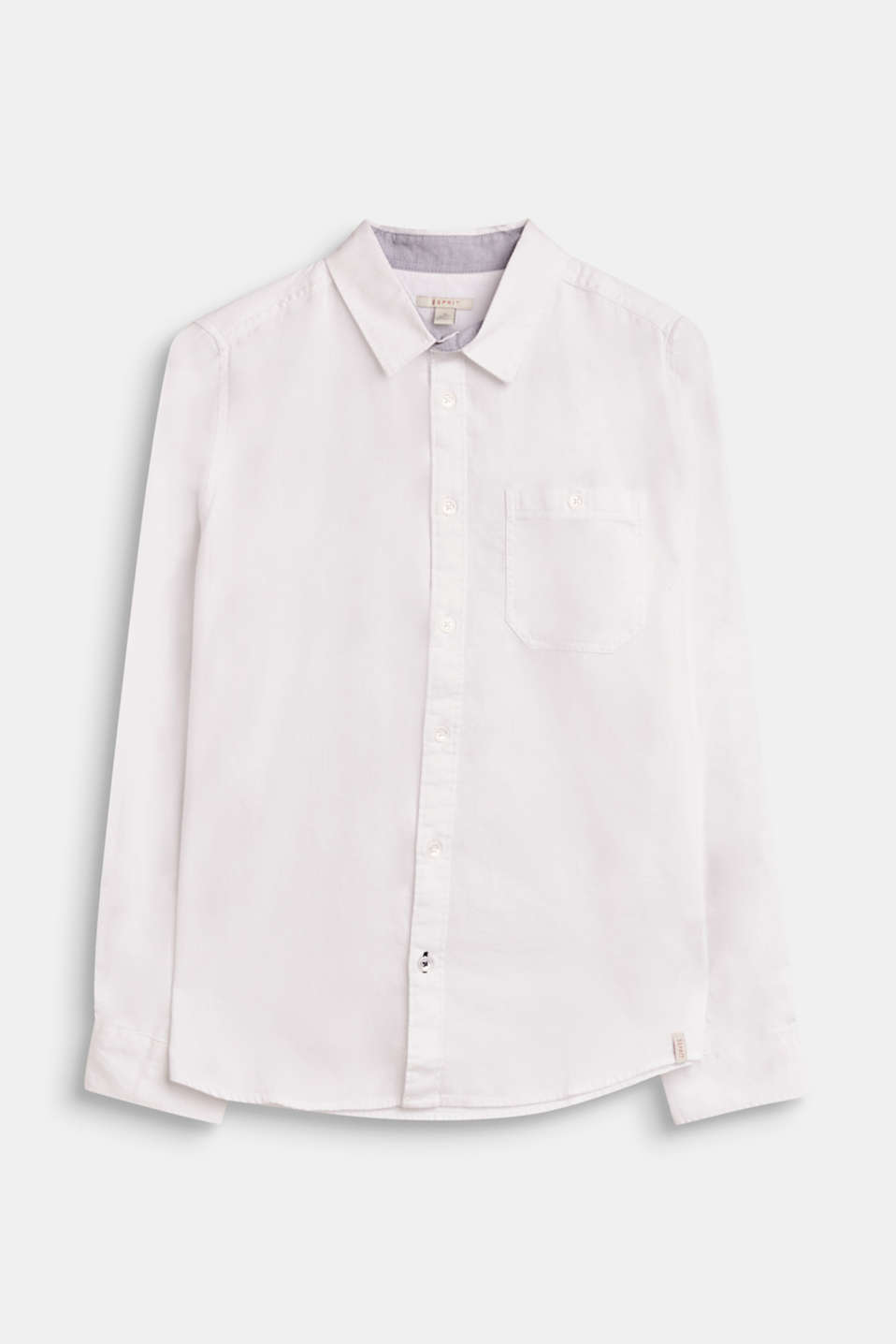 Esprit - 100% cotton textured shirt