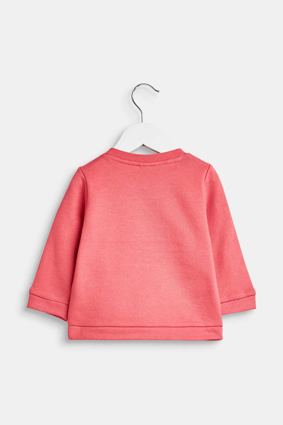 Sweatshirt with a print, 100% cotton, LCTINTED ROSE, detail image number 1