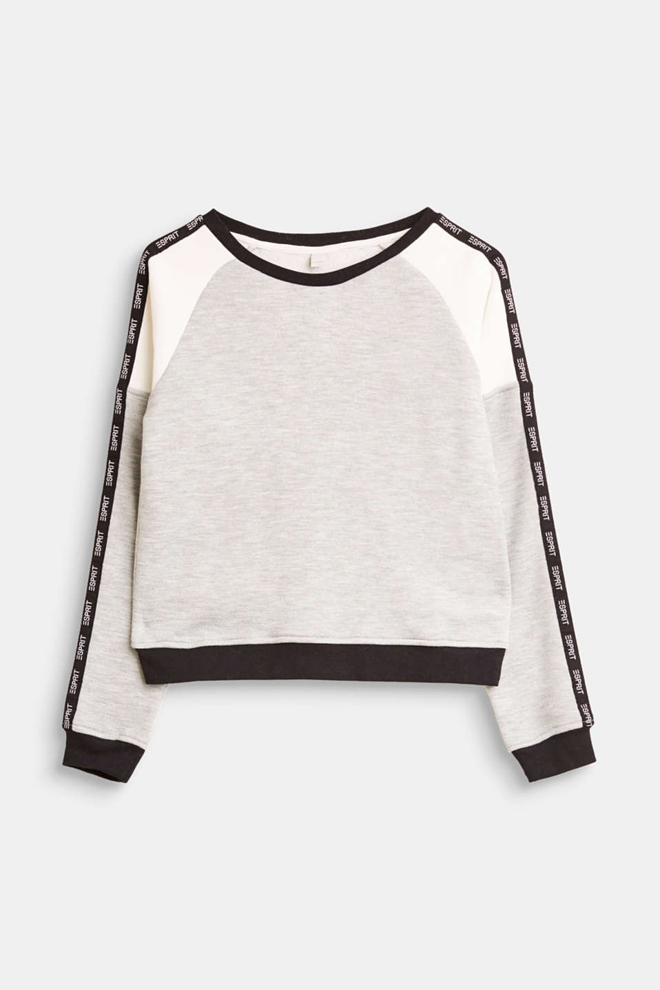 Esprit - Jersey sweatshirt with logo tape