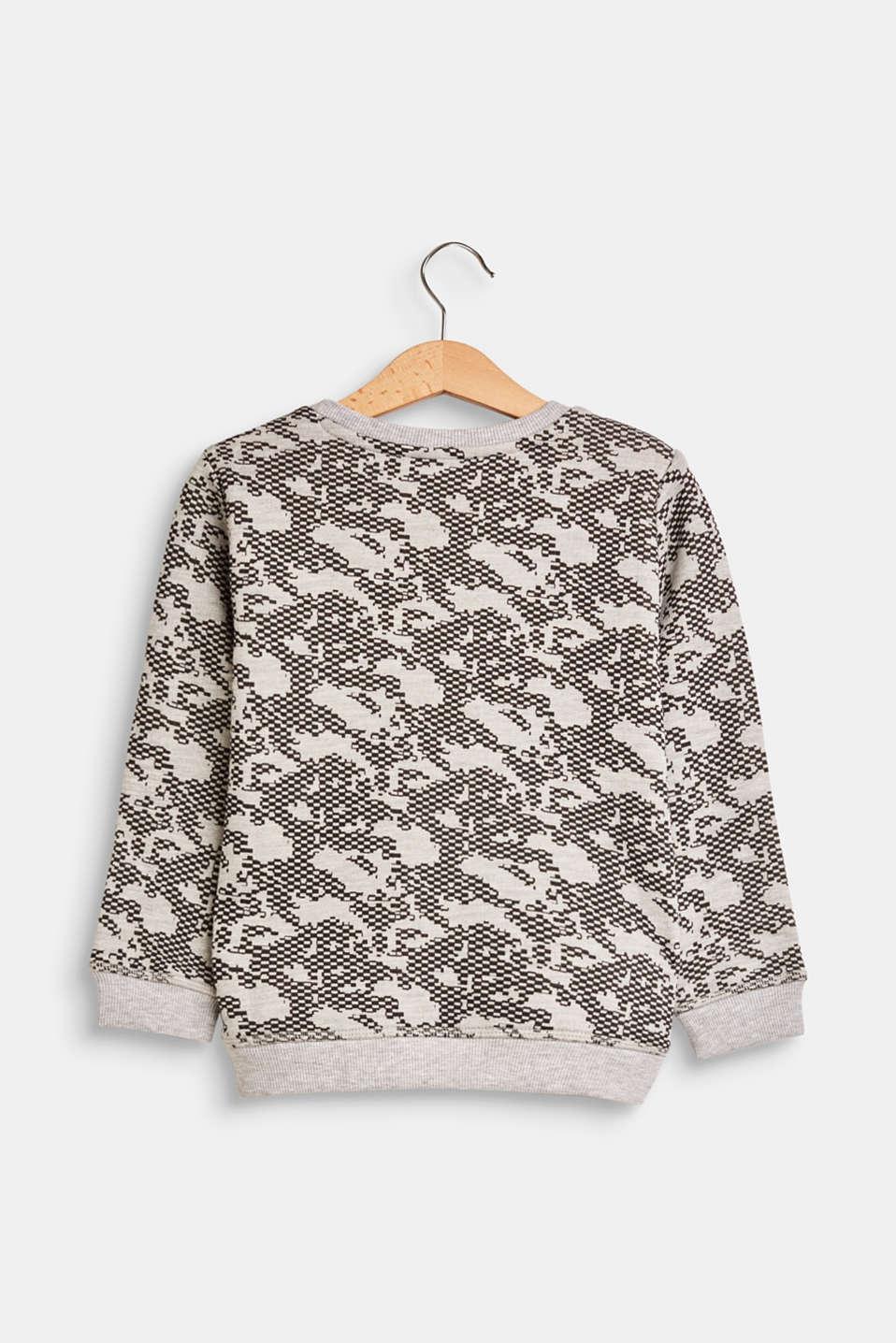 Sweatshirts, LCHEATHER GREY, detail image number 1