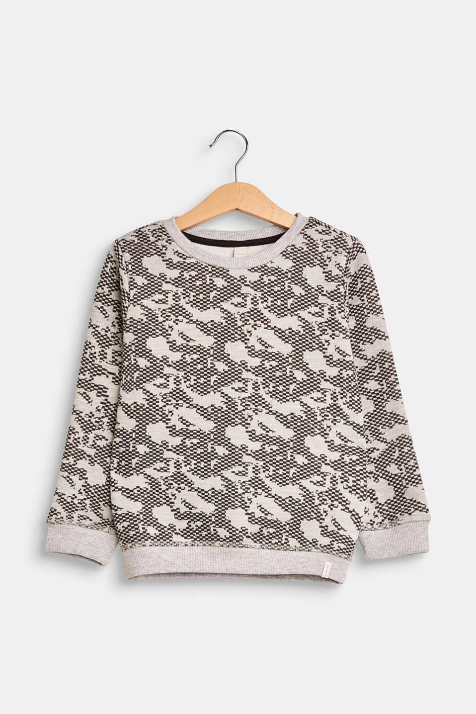Sweatshirts, LCHEATHER GREY, detail image number 0