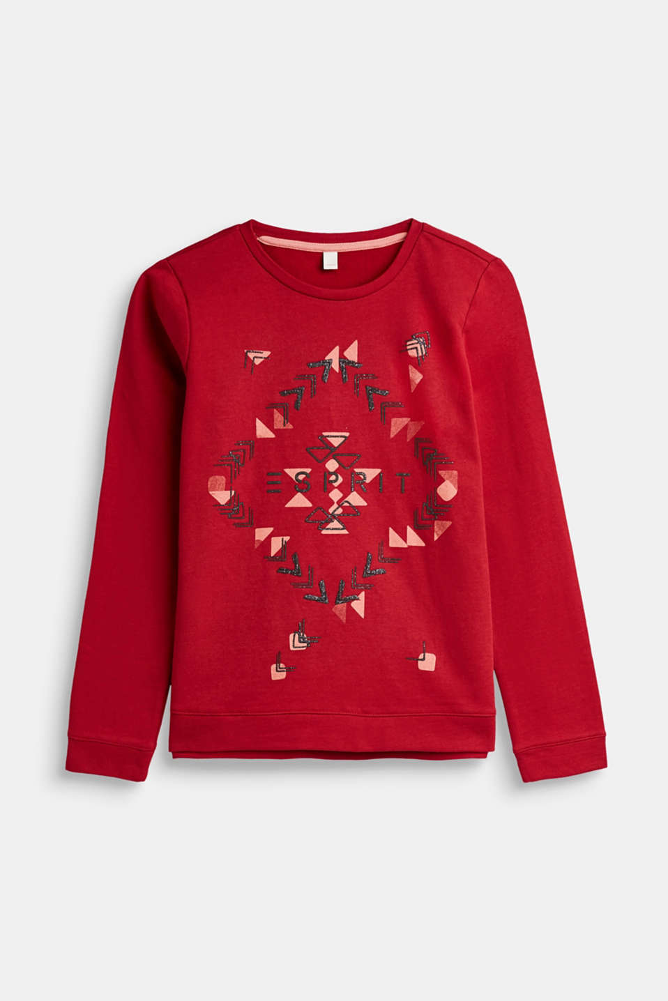 Esprit - Sweatshirt with a glittering graphic print