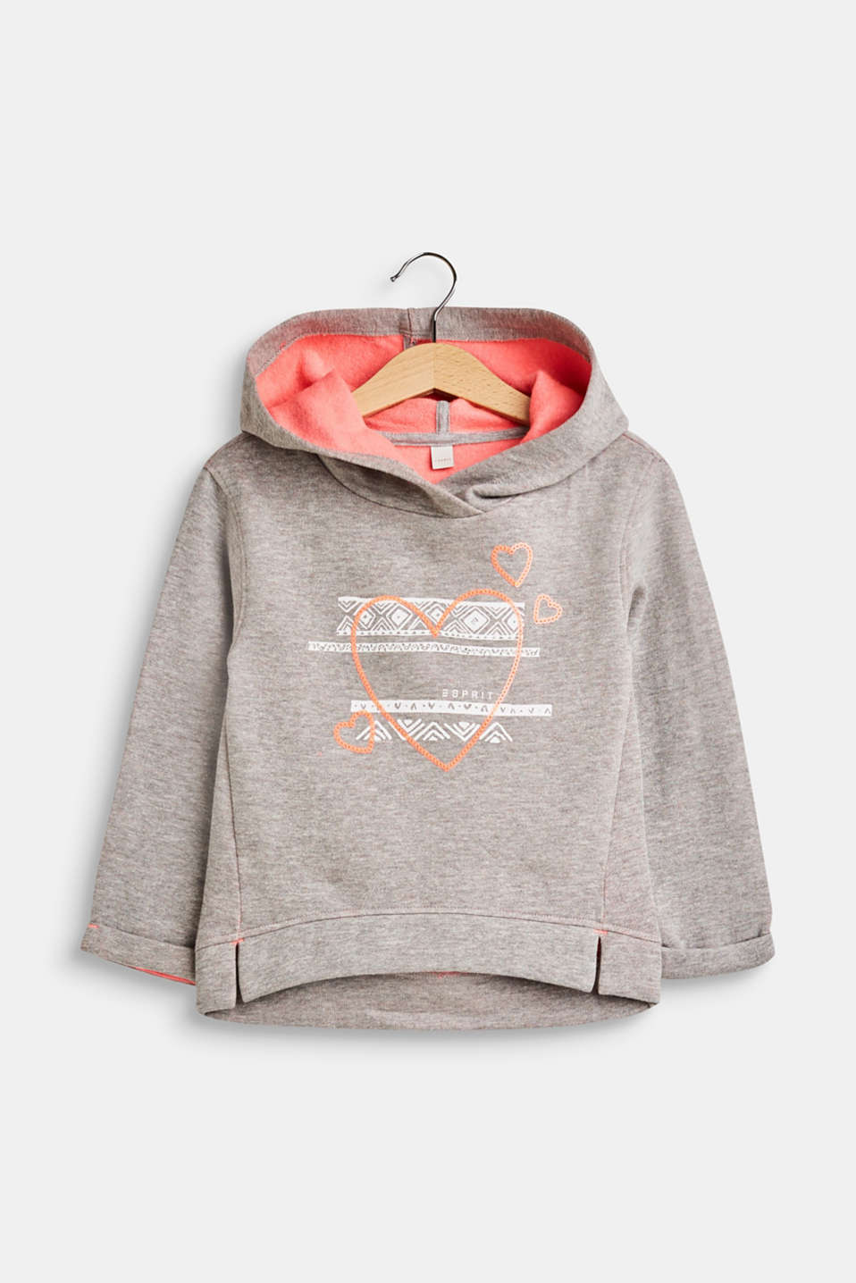 Esprit - Hooded sweatshirt with sequins