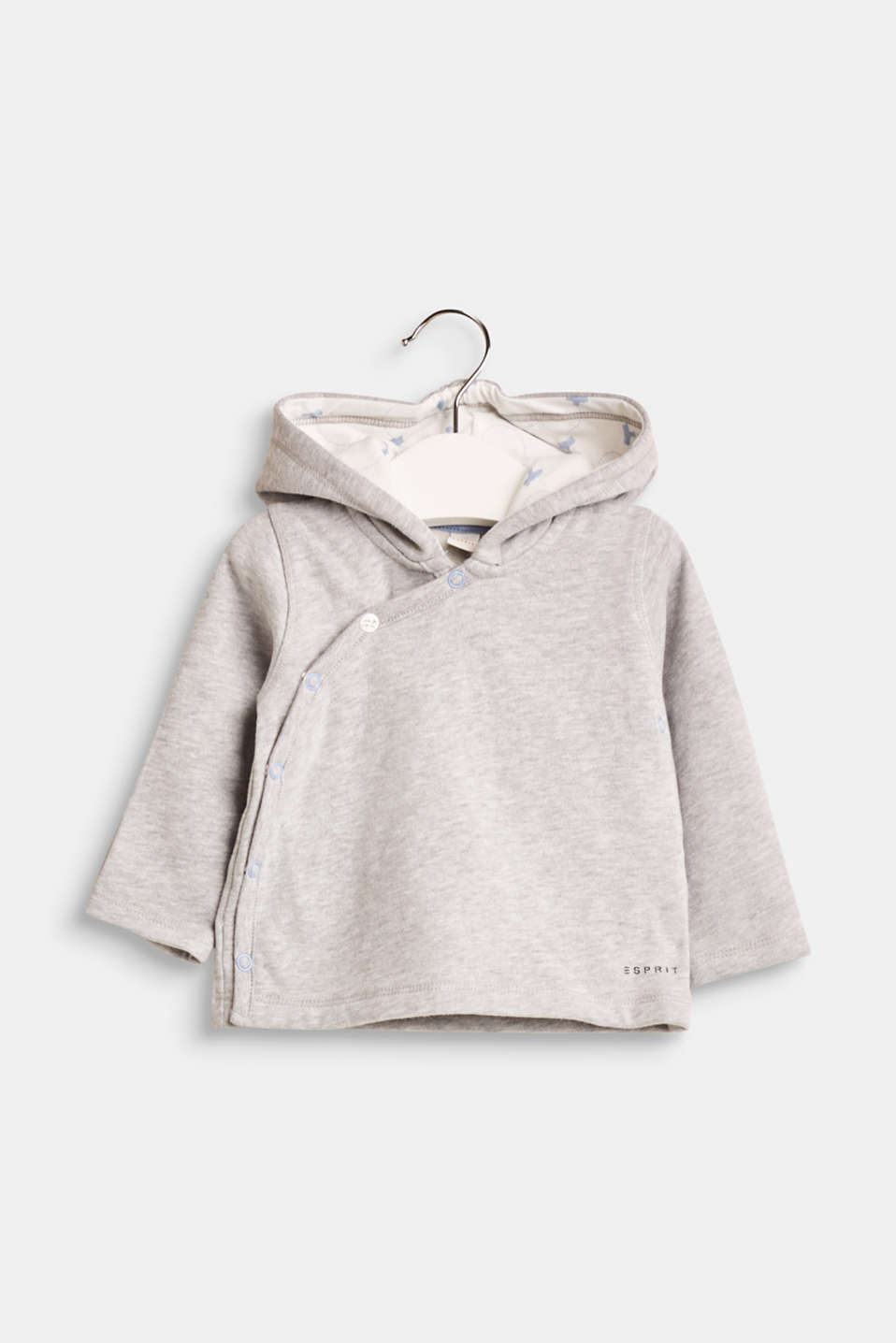 It does not get more adorable! Little ears on the hood make this sweatshirt jacket a super adorable eye-catcher with a fluffy interior and valuable organic cotton.