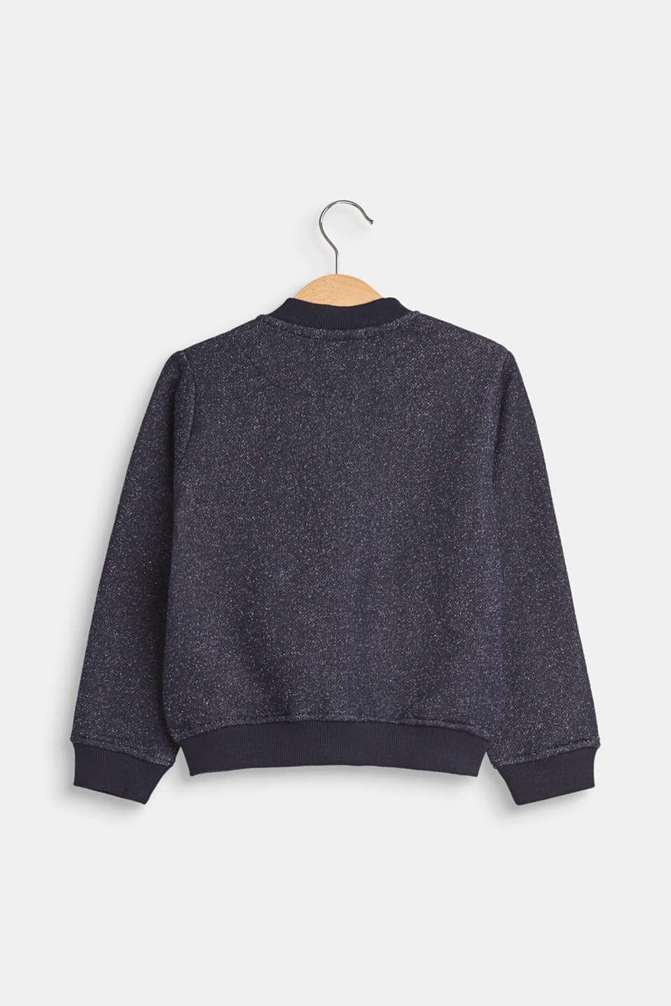 Sweatshirts cardigan, LCPLUM, detail image number 1