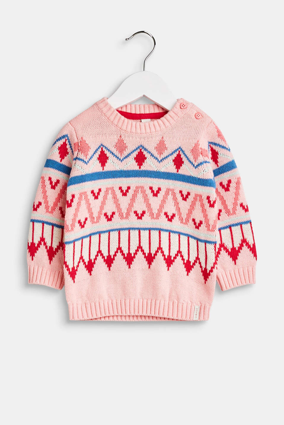Esprit - Norwegian jumper in 100% cotton