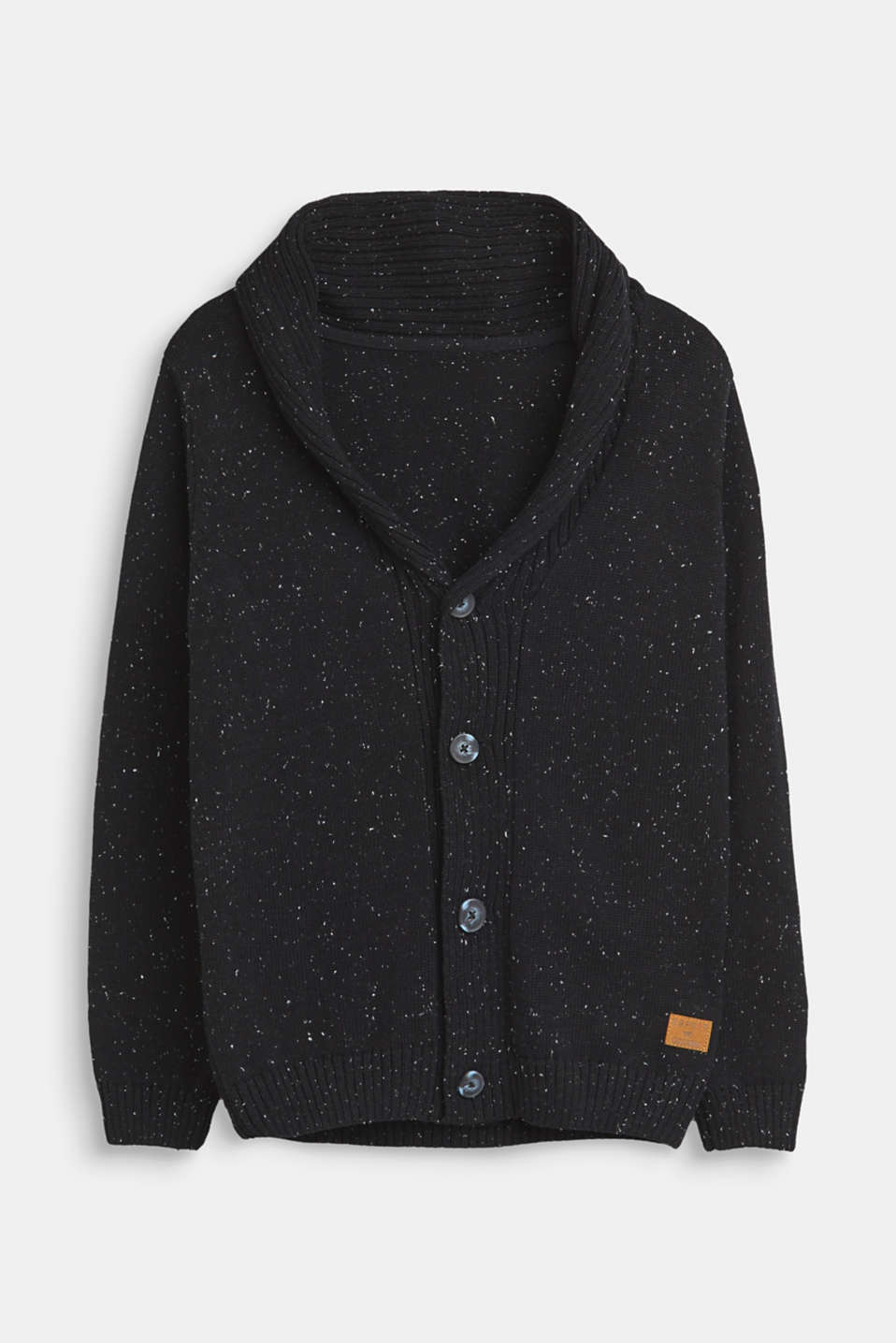 Esprit - Strick-Cardigan in Noppen-Optik