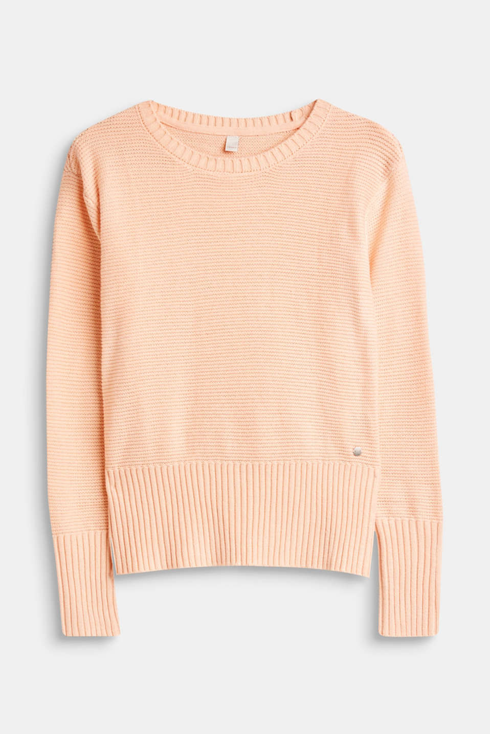 Esprit - Textured knit jumper