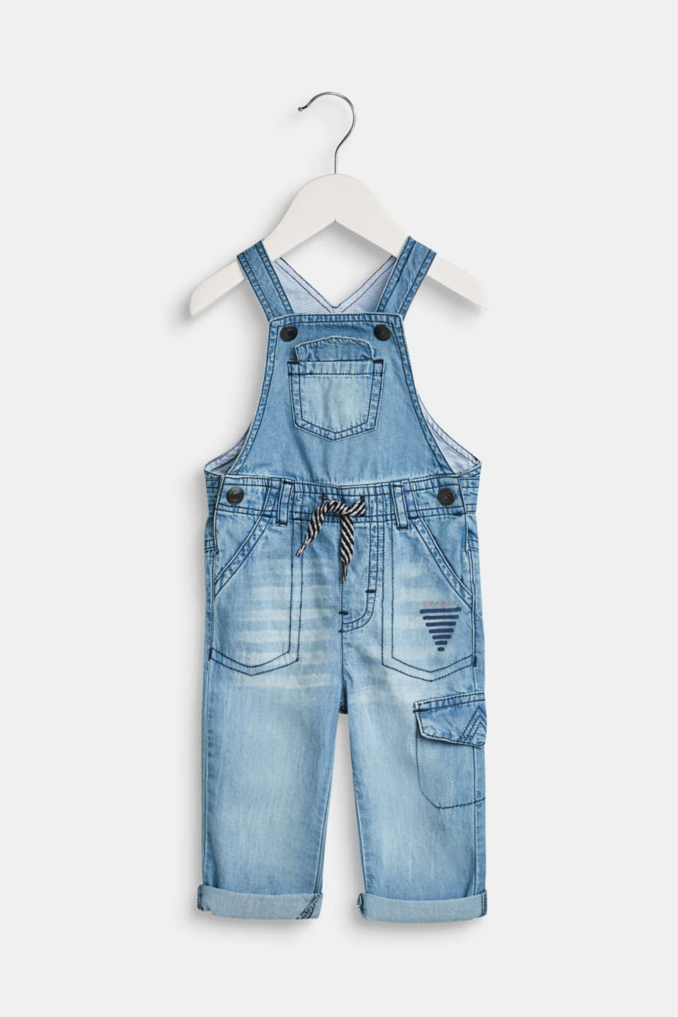 Esprit - Superlichte denim tuinbroek