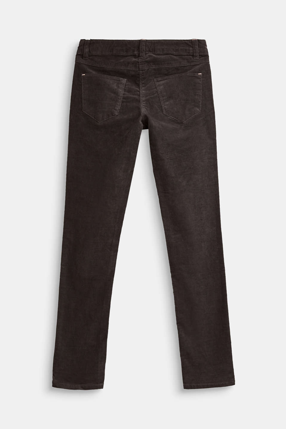 Pantalon en velours finement côtelé et stretch