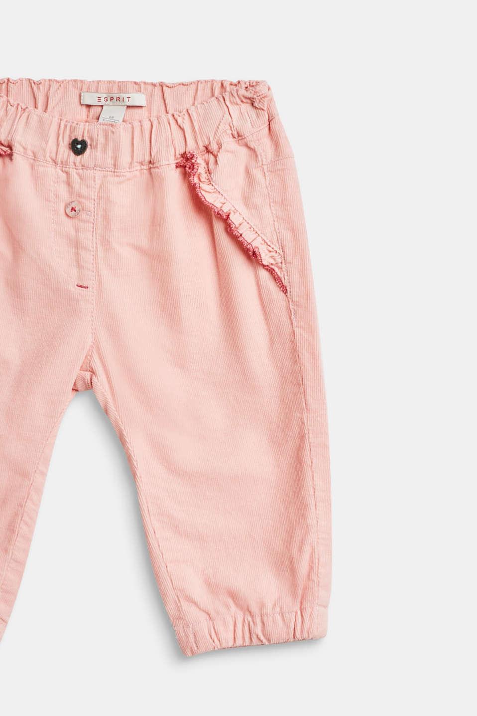Pants woven, LCPASTEL PINK, detail image number 3