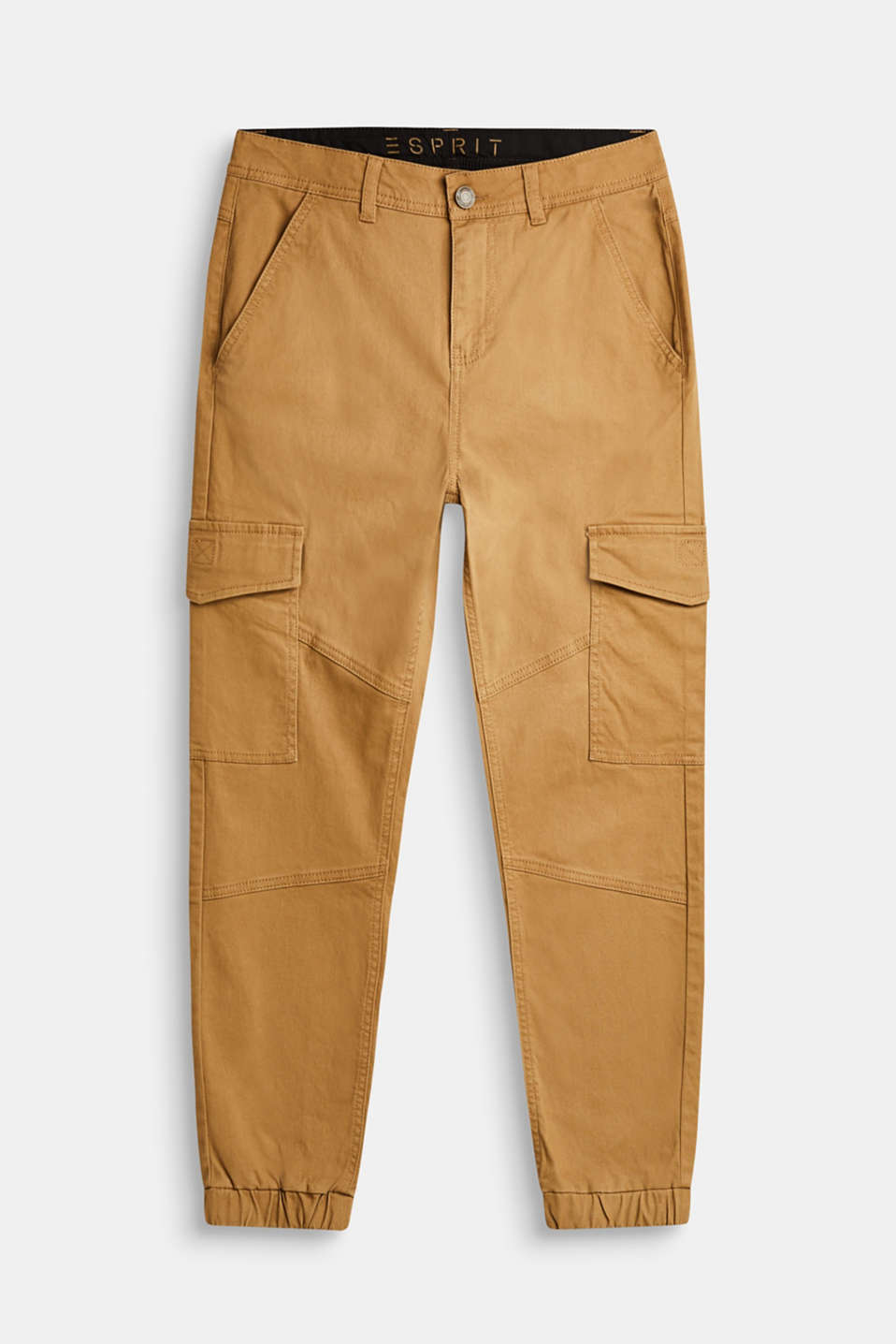 Esprit - Stretch cotton cargo trousers