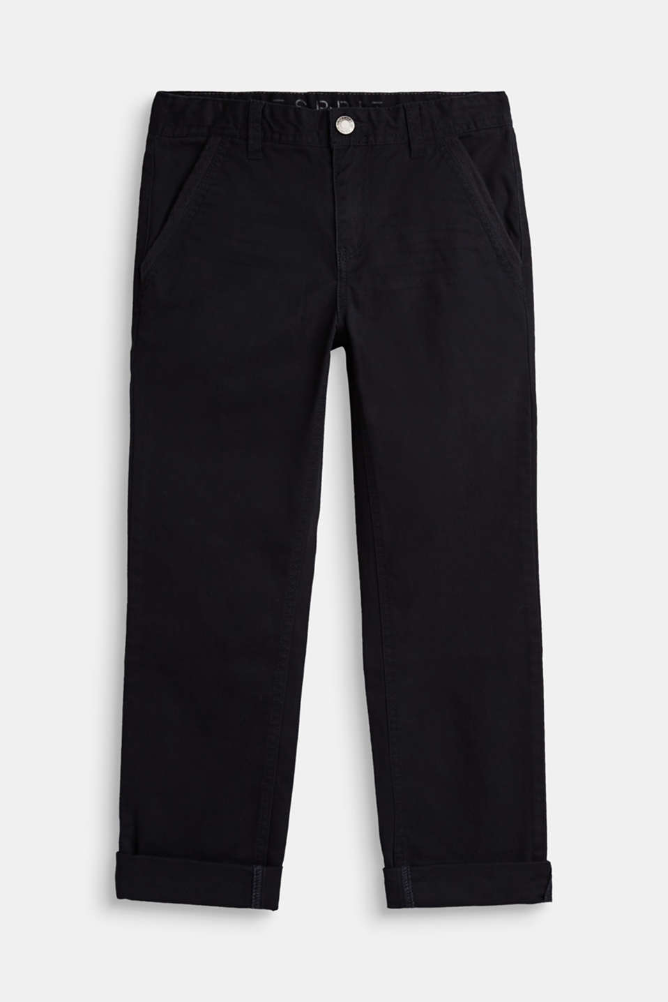 Esprit - Stretch-Pants mit cleanem Design