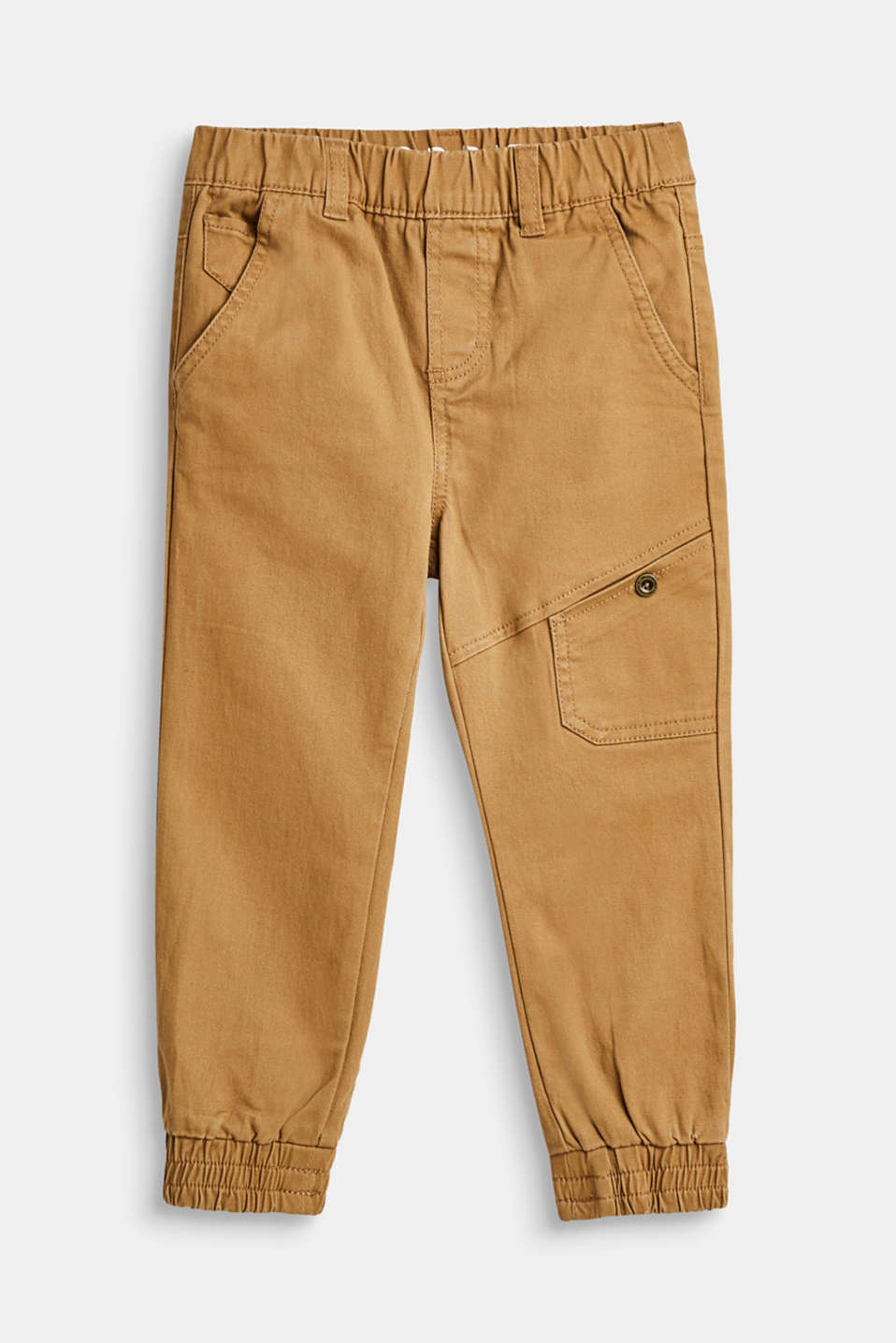 Esprit - Cargo-style trousers in stretch cotton