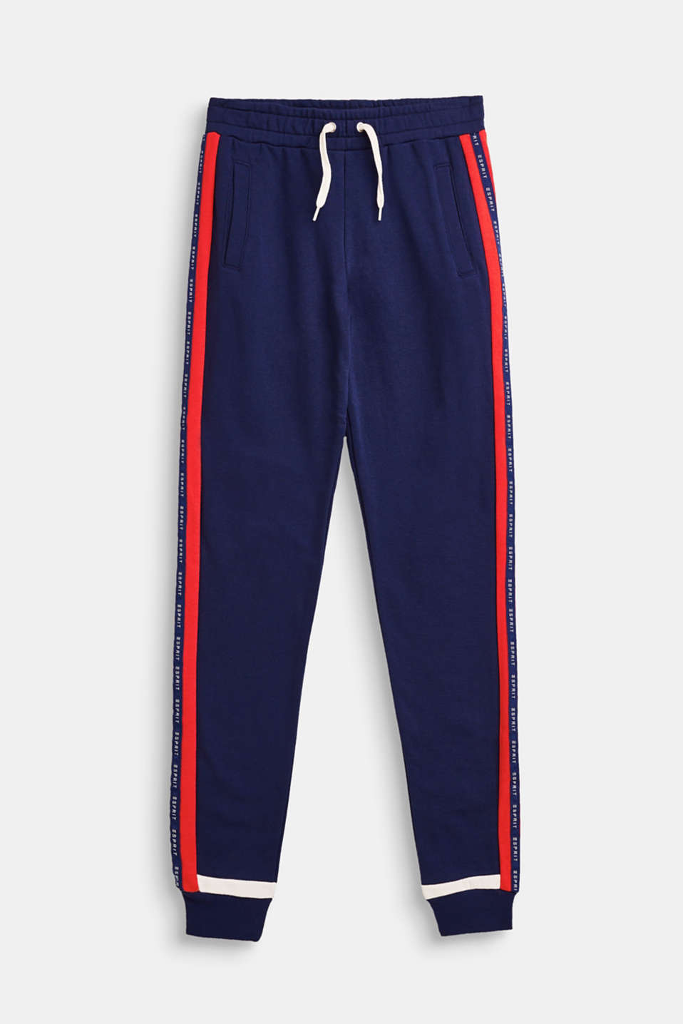Esprit - Colour block tracksuit bottoms with logo trims