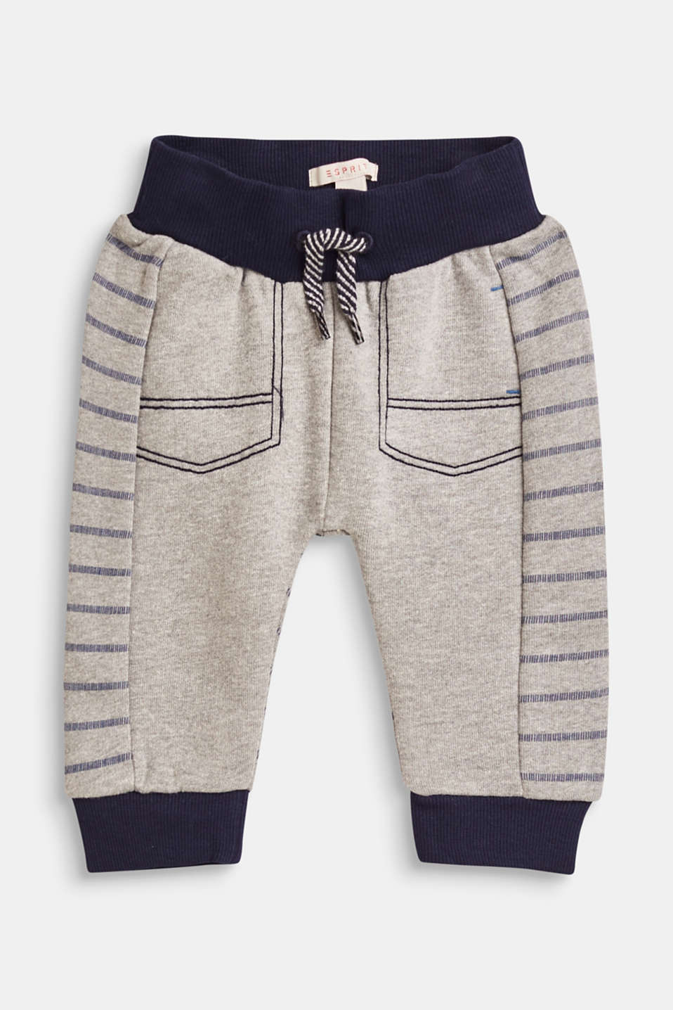 Esprit - Sweatshirt trousers with mock pockets
